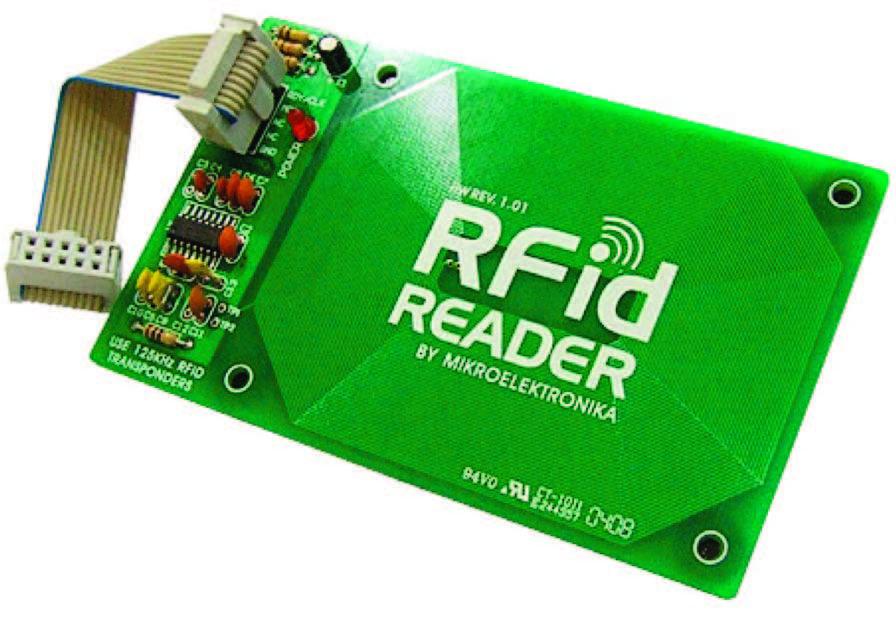 Figura 11: RFid Reader completa di cavetto per la connessione.