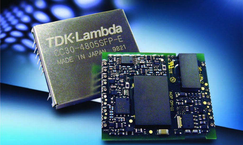Figura 3: Un DC-DC converter integrato della TDK.