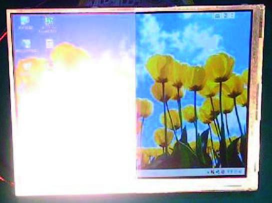 Figura 3: confronto sulla quantità di luce riflessa e sulla resa della retroilluminazione.
