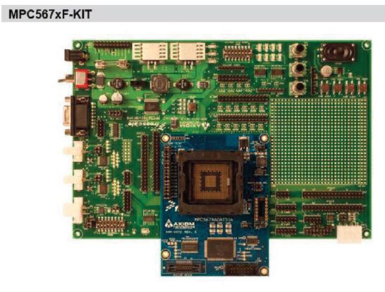 Figura 3: la scheda di sviluppo MPC567XEVB.