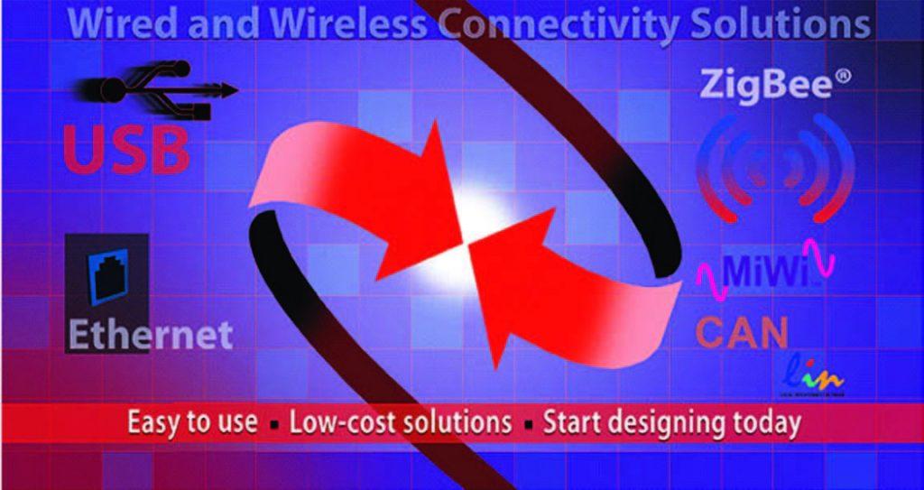 Figura 1: lo stack MiWi di MicroChip, alternativa semplice e low-cost a protocolli standard di connettività wireless.
