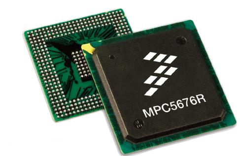 Figura 1: i nuovi micro MPC5676R di Freescale.