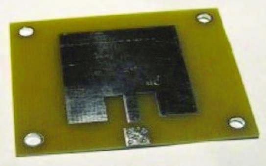 Figura 1: patch antenna.