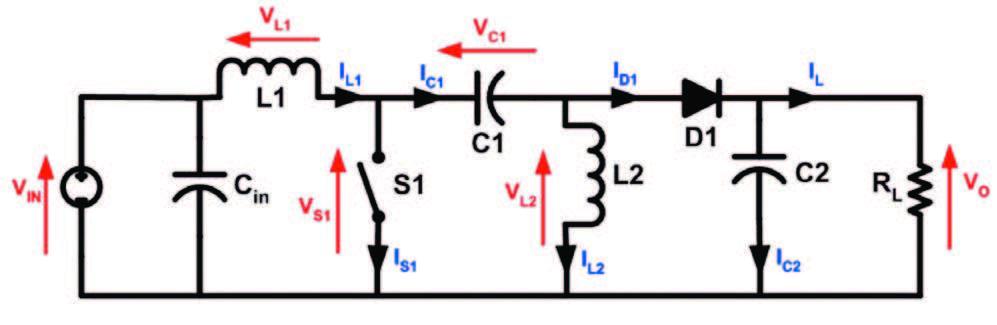 Figura 2: regolatore SEPIC.