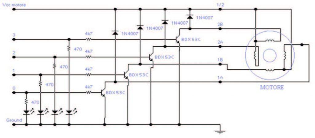 Figura 4: unità di potenza (esempio circuitale).