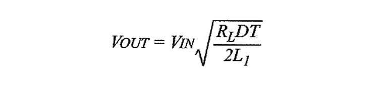 Figura 5: valore della tensione di carica della capacità.