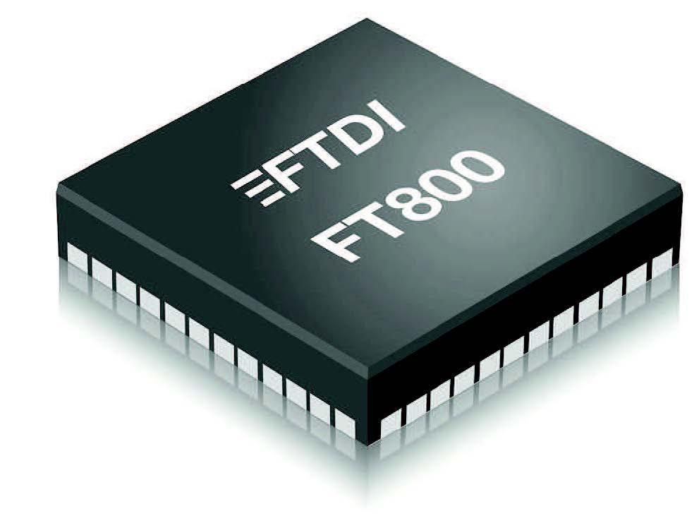 Figura 1: Il nuovo chip FT800
