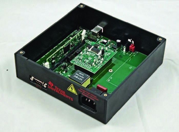 Figura 4.Il Powerline Model Developer's Kit di TI basato su AFE031