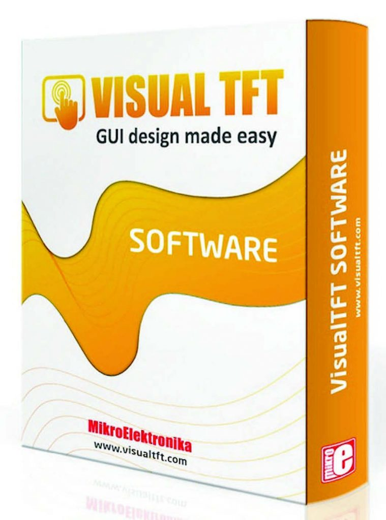 Figura 12: Il Visual TFT della MikroElektronika