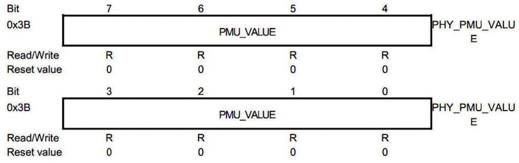 Figura 3: Il registro PMU_VALUE