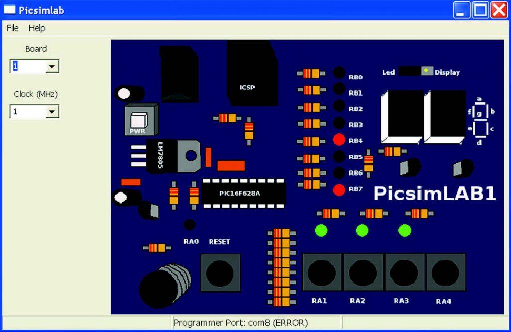 Figura 3: La board 1 emula la McLab1