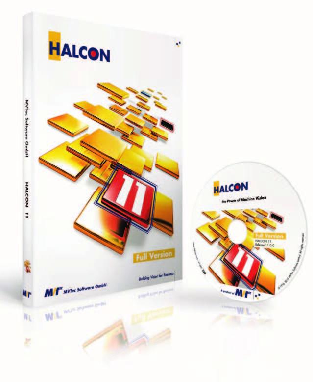Figura 3: La nuova release HALCON 11 rappresenta l'avanguardia nel campo del software per machine vision, grazie ad innovative funzionalità quali l'identificazione basata su singoli campioni, confronto di superfici 3D e processing di oggetti 3D, stereovisione fotometrica migliorata.