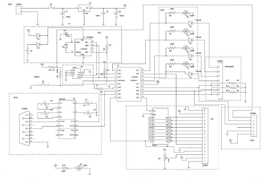 Figura 8: Schema elettrico della board 2