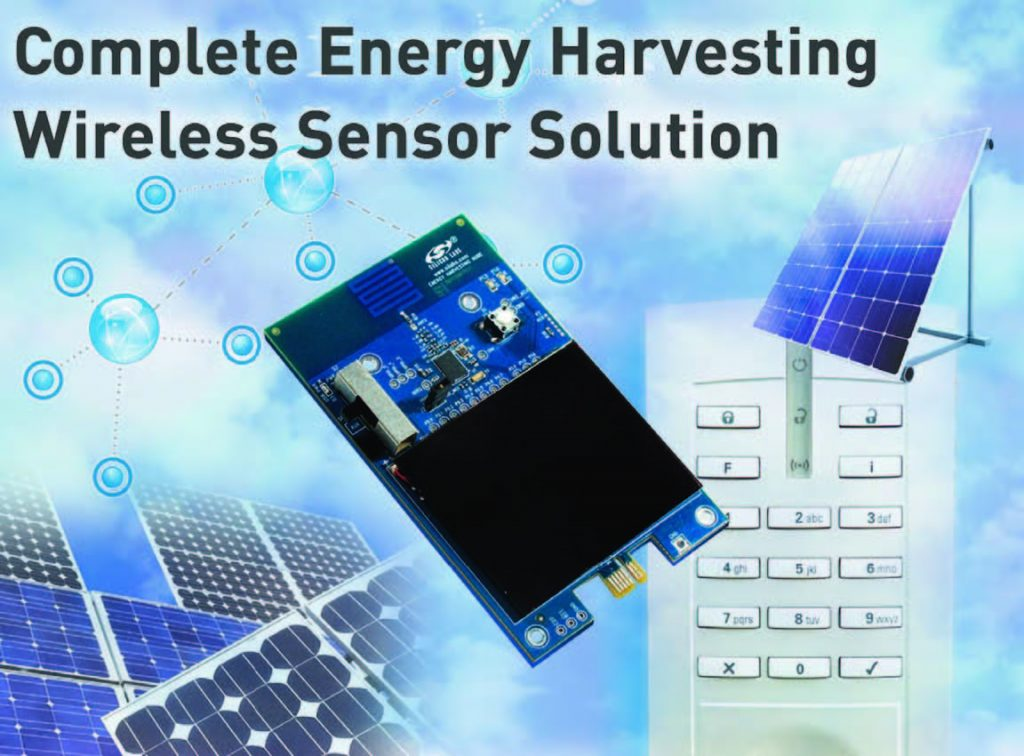 Figura 2: l'Energy Harvesting Wireless Sensor Node