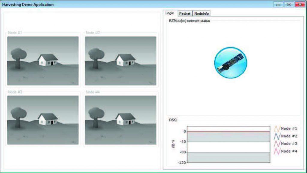 Figura 5: la schermata iniziale dell'applicazione demo