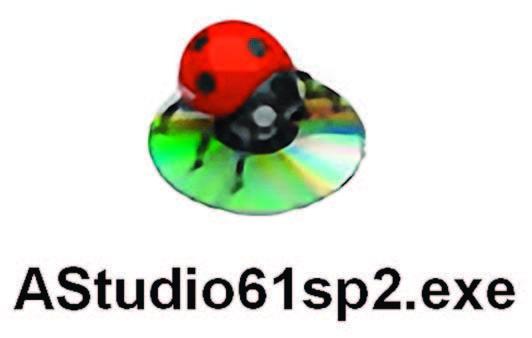 L'icona dell'installer di Atmel Studio 6.1