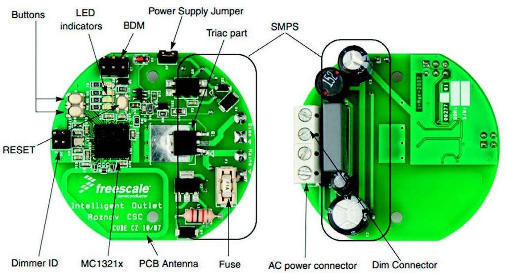 Figura 10: TOP e BOTTOM versione 1 della PI