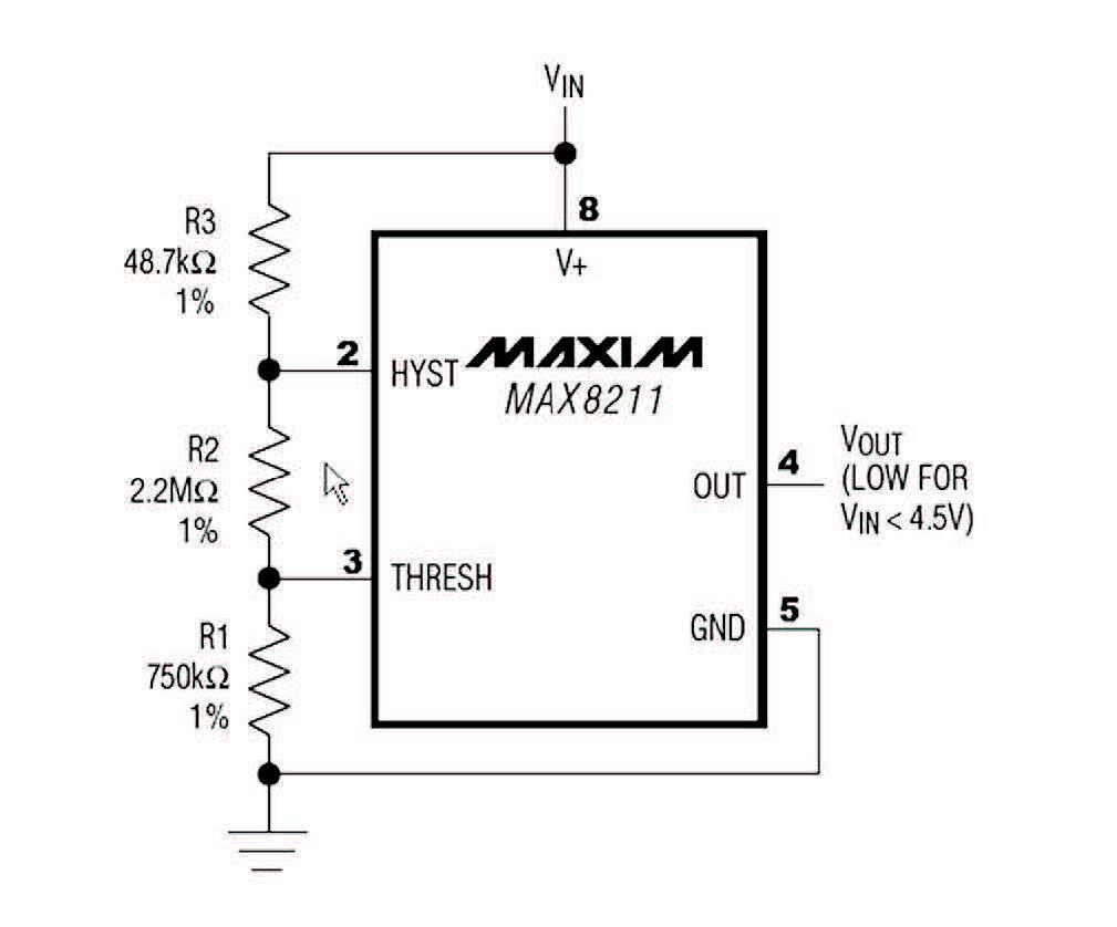 Figura 3: schema di un Low-Voltage Detector.
