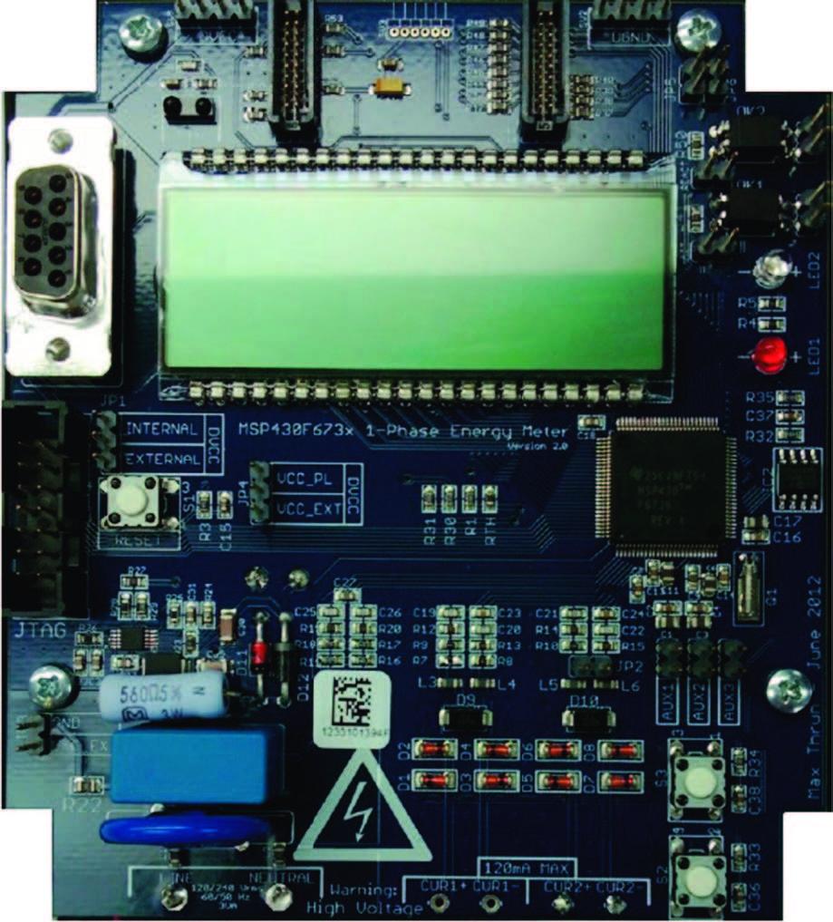 Figura 7: Scheda Texas Instruments per e-meter