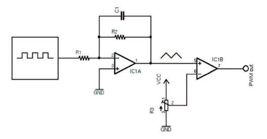 Figura 2: Circuito PWM
