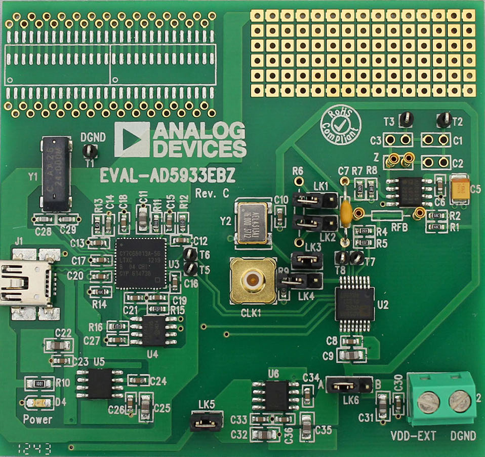 Figura 7: EVAL-AD5933EBZ.