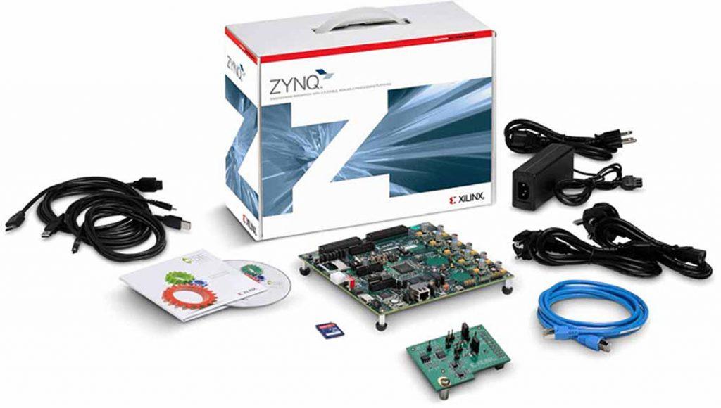 Figura2 : Kit hardware di valutazione ZC702