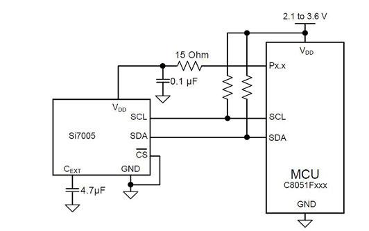 Figura 12: collegamento a basso assorbimento