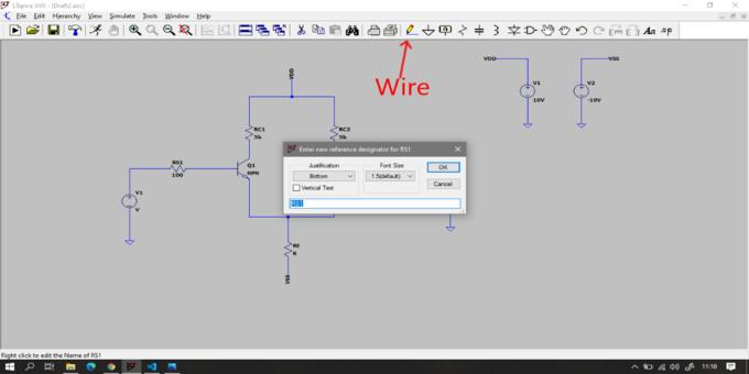 Figura 5: Icoma comando Wire