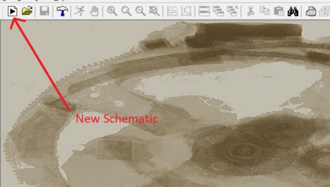 Figura 2: Icona New Schematic