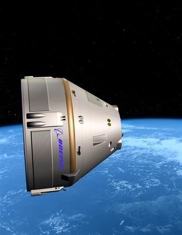 Capsula spaziale Crew Transportation-100 di Boeing