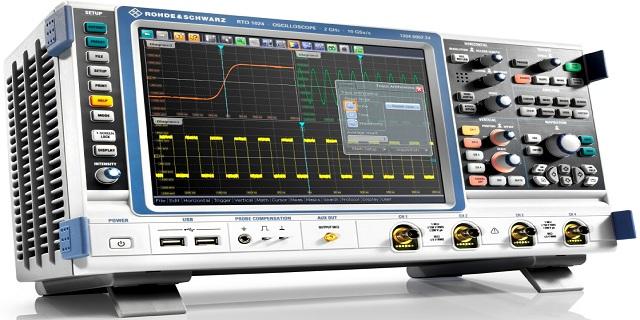 oscilloscopio RTO