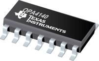 Un nuova famiglia di Op Amp di precisione da Texas Instruments: OPA140, OPA2140 e OPA4140