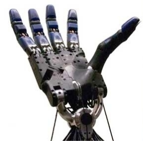mano robotica della Shadow