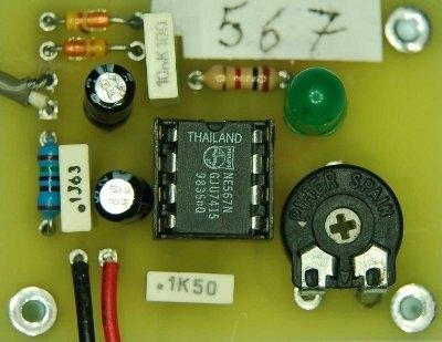 Sincronizzatore di fase con NE567