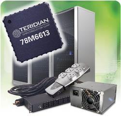 78M6613 la primo soluzione SoC per la misuraizone dell'energia per AC / DC
