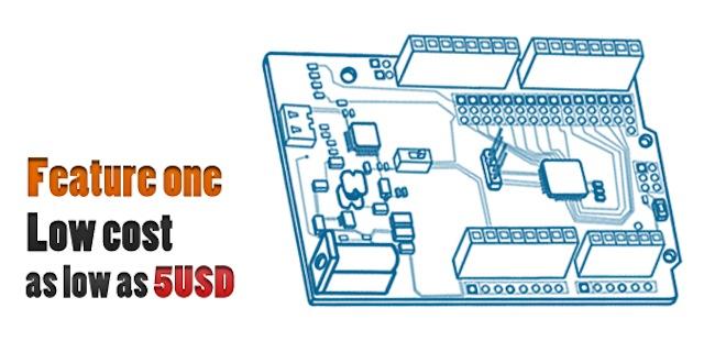 Arduino clone a meno di 4€