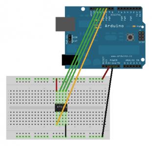 Arduino ISPTo ATtiny