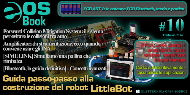 EOS-Book #10 con Bluetooth PCBART Simulink etc.