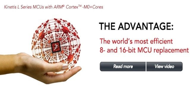 Freescale Kinetis ARM Cortex M0+