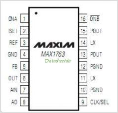 MAX1763, convertitore Step-Up DC-DC da Maxim