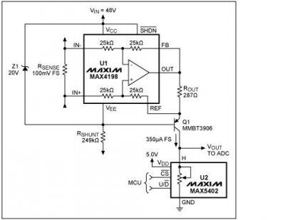 MAX5402 potenziometro digitale