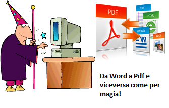 Come creare file PDF da Word e viceversa