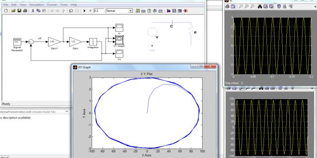 Circuito Rc : Simulink] un semplice circuito r c elettronica open source