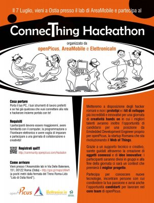 Hackaton ad Ostia