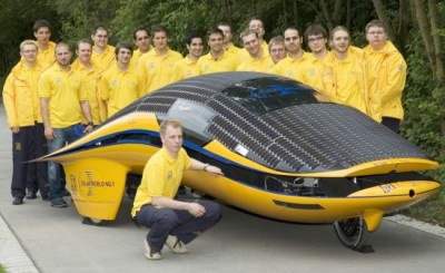 World Solar Challanged audi