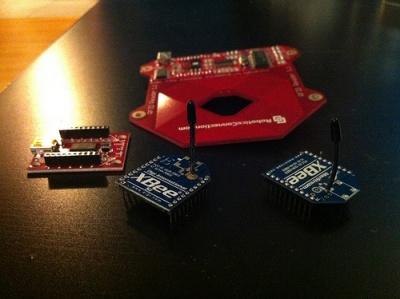 lettore RFID con moduli XBee
