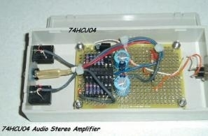 amplificatore audio stereo digitale