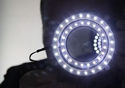 anello LED per macchina fotografica