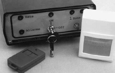 Antifurto casa via radio progetto open source
