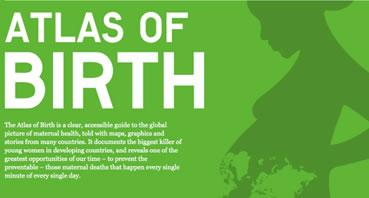 Atlas of birth è un progetto globale che prevede la realizzazione di una serie di mappe online sui diritti delle donne